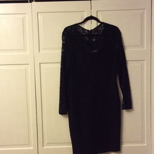 CALVIN KLEIN Black dress; color always appropriate
